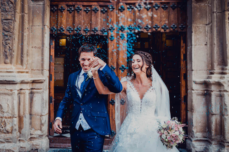Céline & Manuel, boda entre olivos